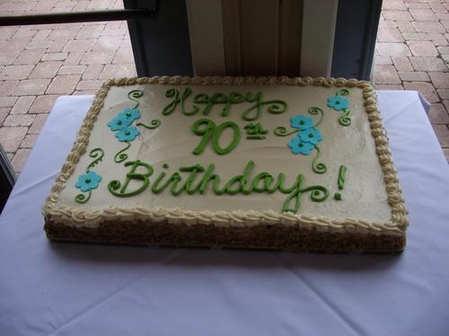 Yum. Cake.