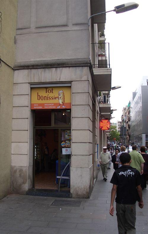 Snack shack - Barcelona -5/21/09