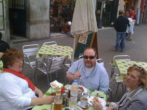 5/21 Barcelona lunch