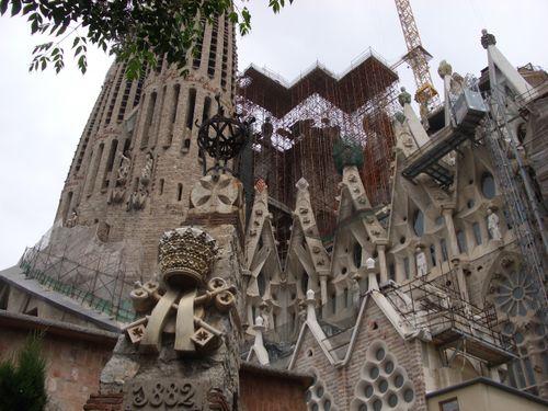 La Sagrada Familia - Barcelona - 5/22/09